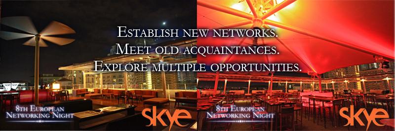 8th Eropean Networking Night:Skye Lounge