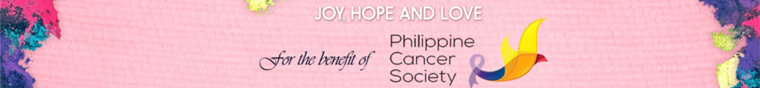 Joy, Hope, and Love for the benefit of Philippine Cancer Society