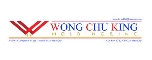WONG CHU KING HOLDINGS, INC.