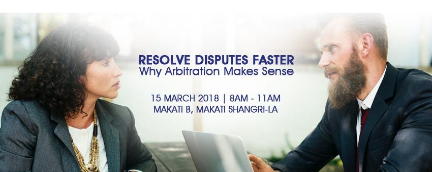 Resolve Disputes Faster: Why Arbitration Makes Sense