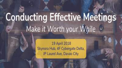 Conducting Effective Meetings [NEW DATE]