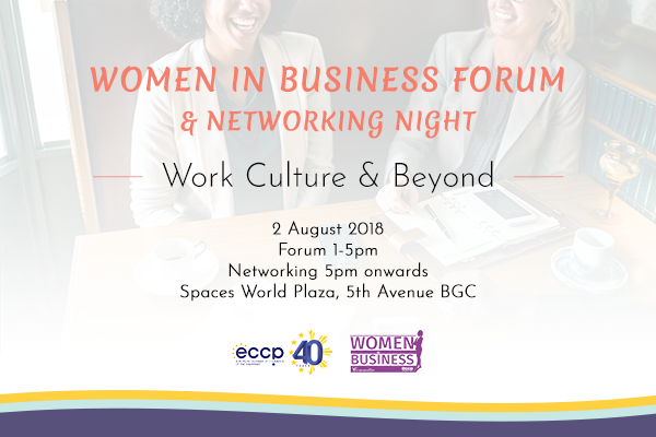 Women in Business Forum: Work Culture & Beyond