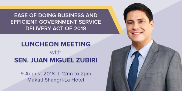 Luncheon Meeting on Ease of Doing Business Act