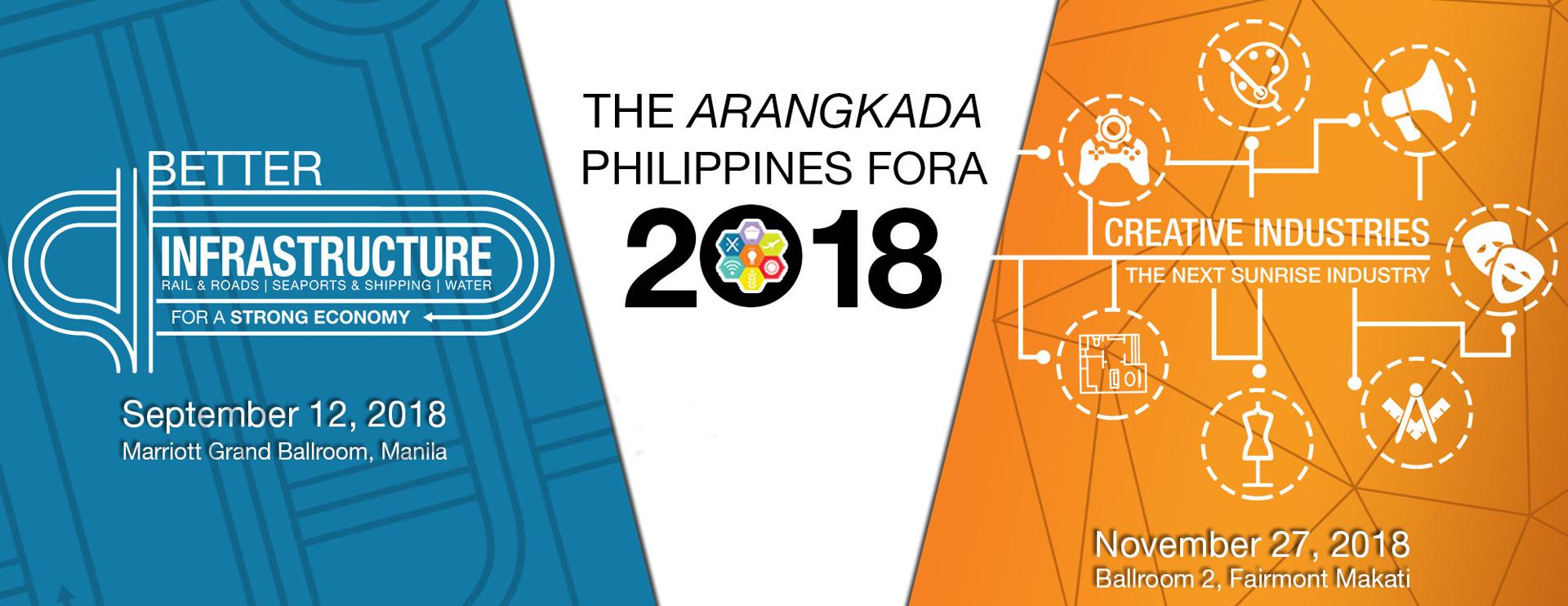 The Arangkada Fora 2018