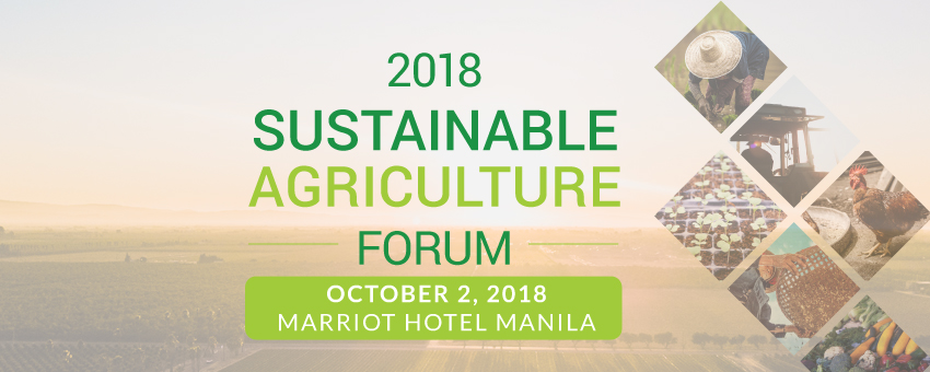 Sustainable Agriculture Forum 2018