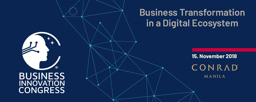 Business Innovation Congress Manila 2018