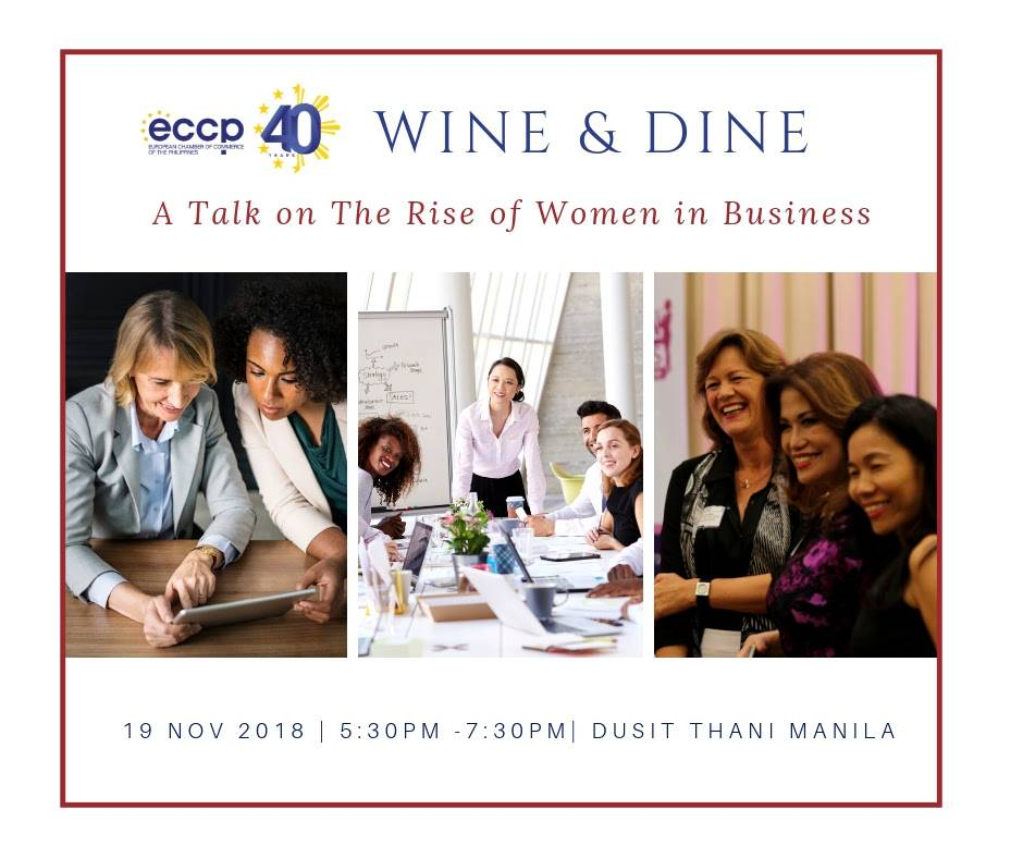 ECCP Wine & Dine: The Rise of Women in Business