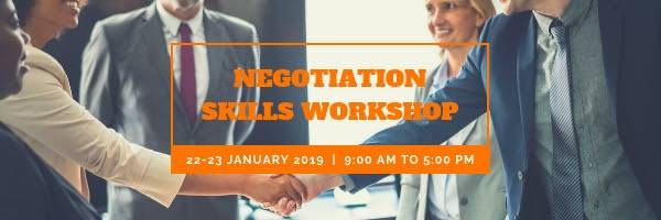 Negotiation Skills Workshop