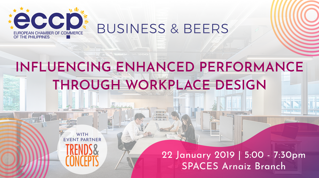 ECCP Business and Beers: Influencing Enhanced Performance Through Workplace Design