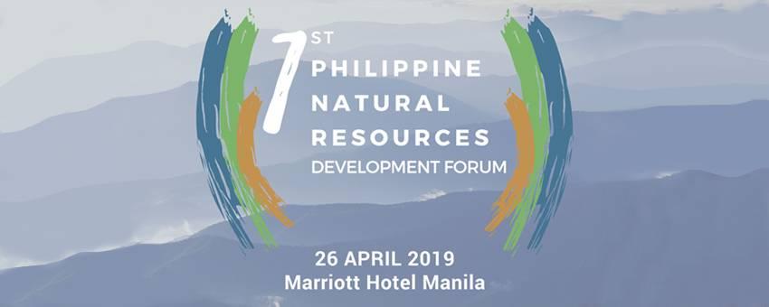1st Philippine Natural Resources Development Forum