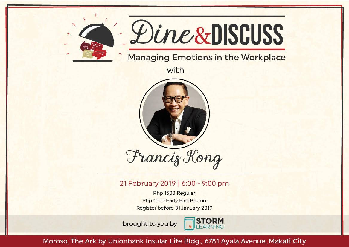 Dine & Discuss: Managing Emotions in the Workplace