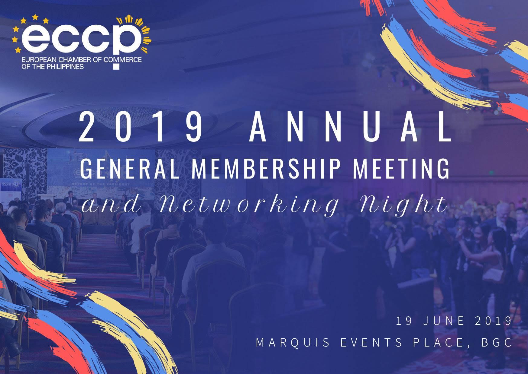 Annual General Membership Meeting 2019 & Networking Night