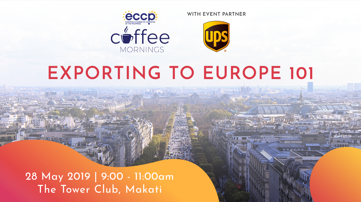 ECCP Coffee Mornings: Exporting To Europe 101