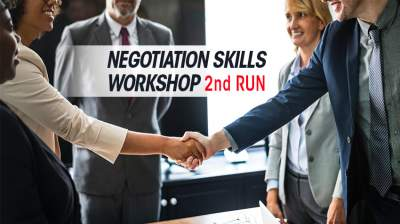 Negotiation Skills Workshop (2nd Run)
