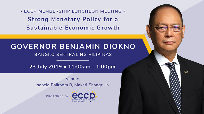 Membership Luncheon Meeting with BSP Gov. Benjamin Diokno