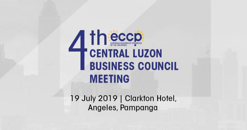 4th ECCP Central Luzon Business Council Meeting