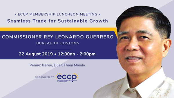 Luncheon Meeting with BOC Commissioner Rey Leonardo Guerrero