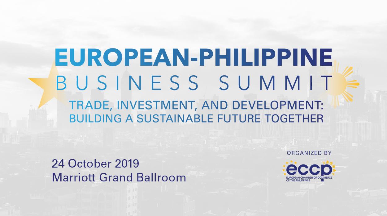 European-Philippine Business Summit 2019