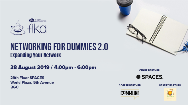 Fika: Networking for Dummies 2.0 Expanding Your Network