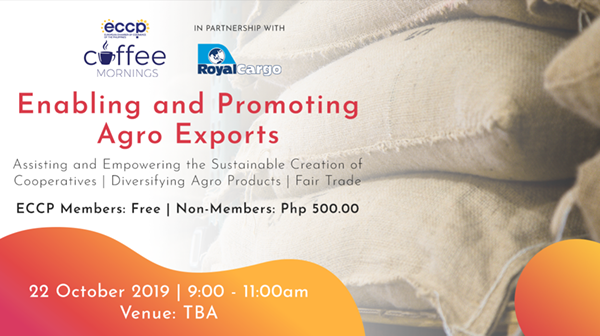 Coffee Mornings: Enabling and Promoting Agro Exports