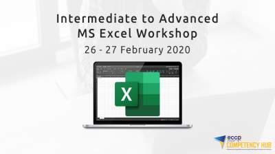 Intermediate to Advanced Microsoft Excel Workshop