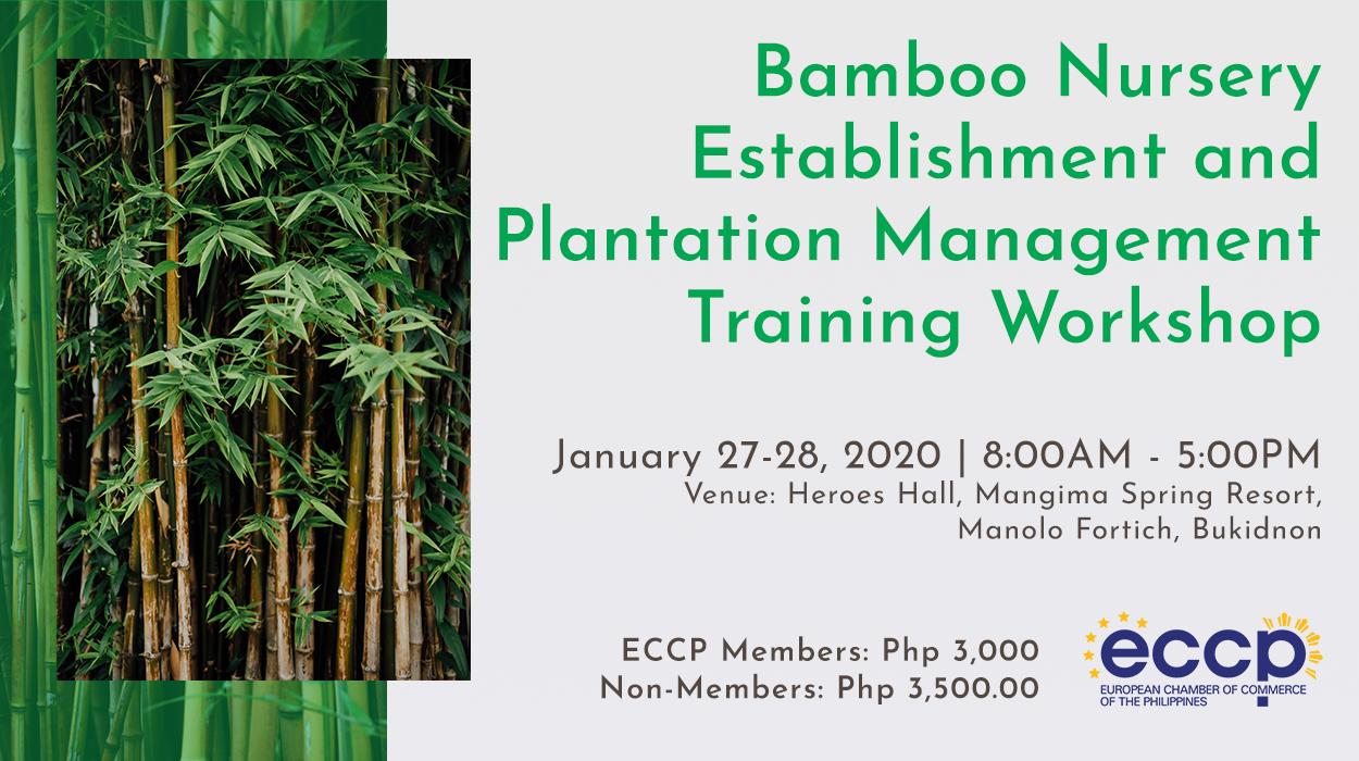 Bamboo Nursery Establishment and Plantation Management  Training Workshop