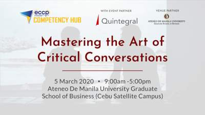 Mastering the Art of Critical Conversations