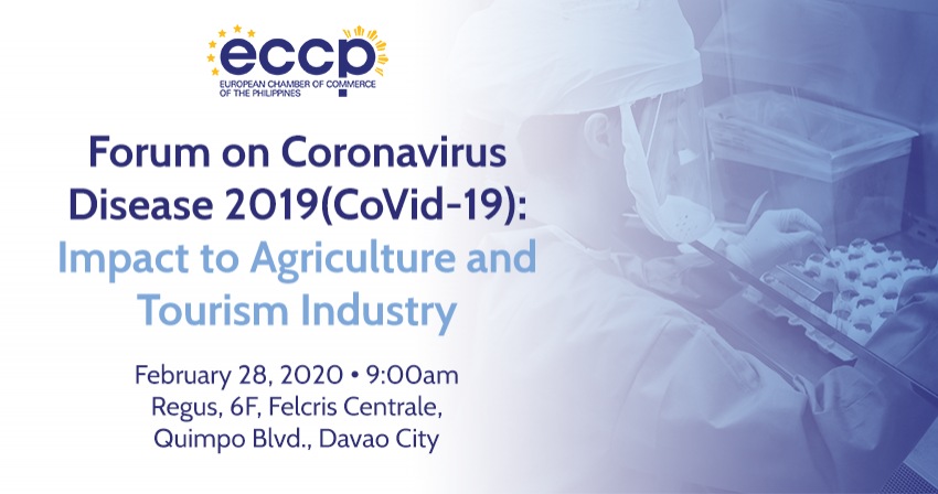 Forum on Coronavirus Disease 2019: Impact to Agriculture and Tourism Industry