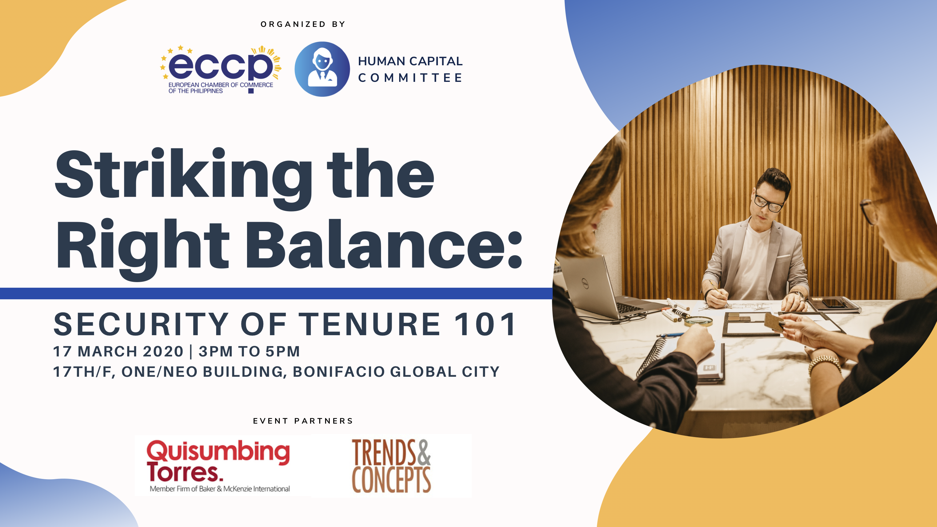 Striking the Right Balance: Security of Tenure 101