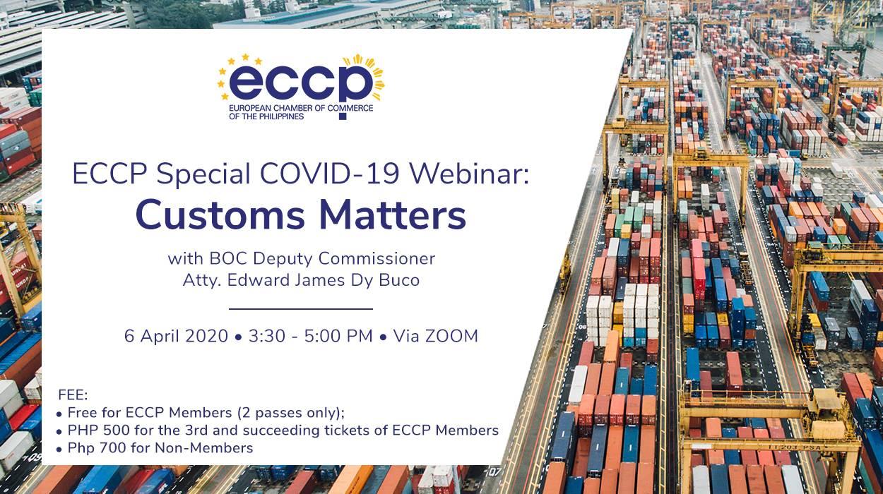 Special COVID-19 Webinar: Customs Matters