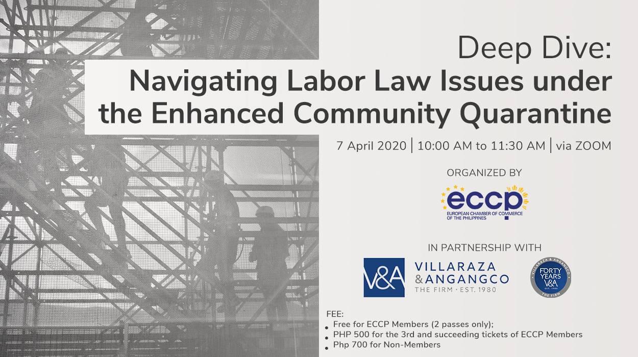 Deep Dive: Navigating Labor Law Issues under the Enhanced Community Quarantine