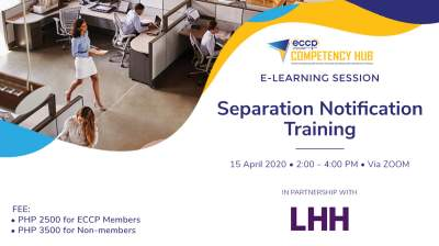 e-Learning Session: Separation Notification Training
