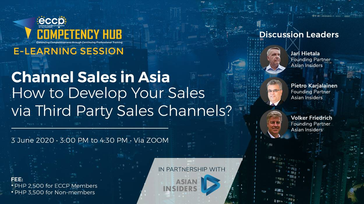 Channel Sales in Asia: How to Develop your Sales via Third Party Sales Channels?