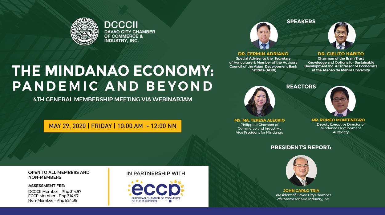 The Mindanao Economy: Pandemic and Beyond 4th General Membership Meeting