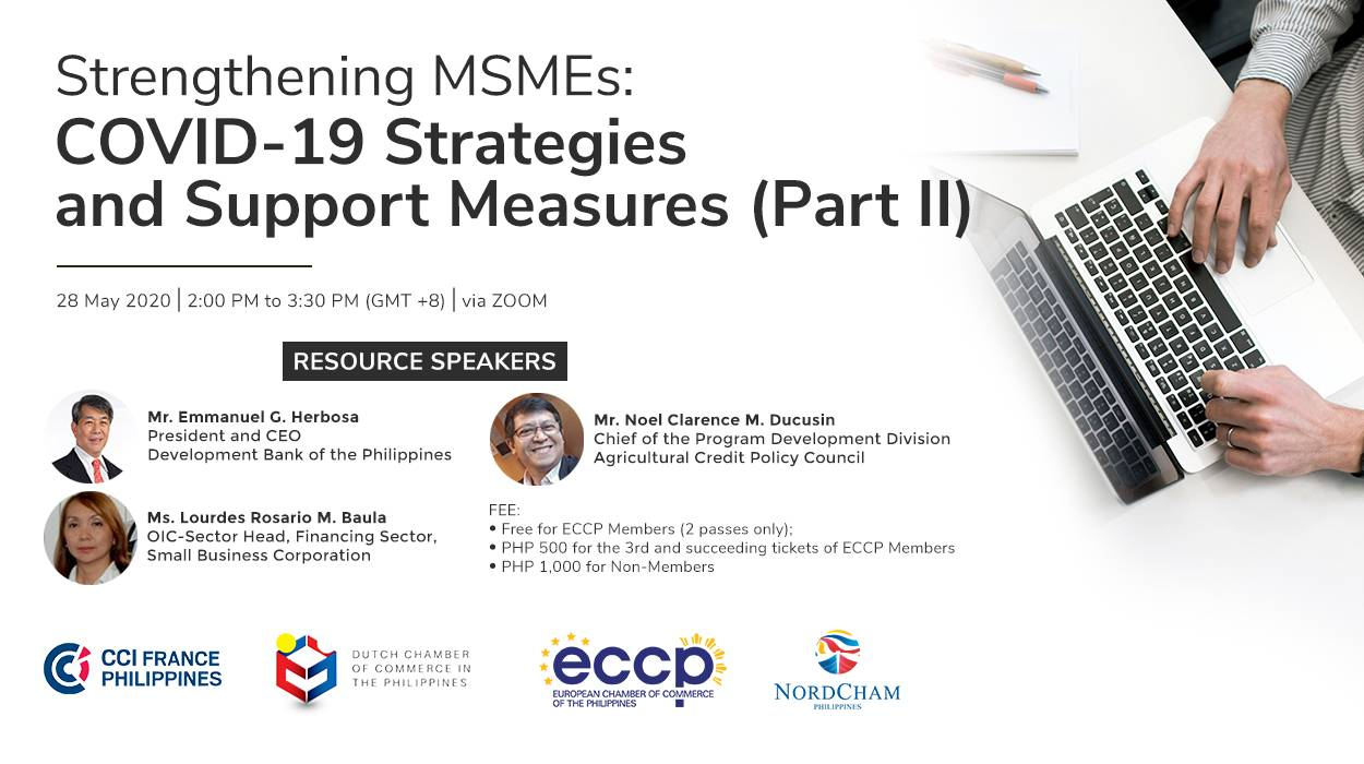 Strengthening MSMEs: COVID-19 Strategies and Support Measures (Part II)