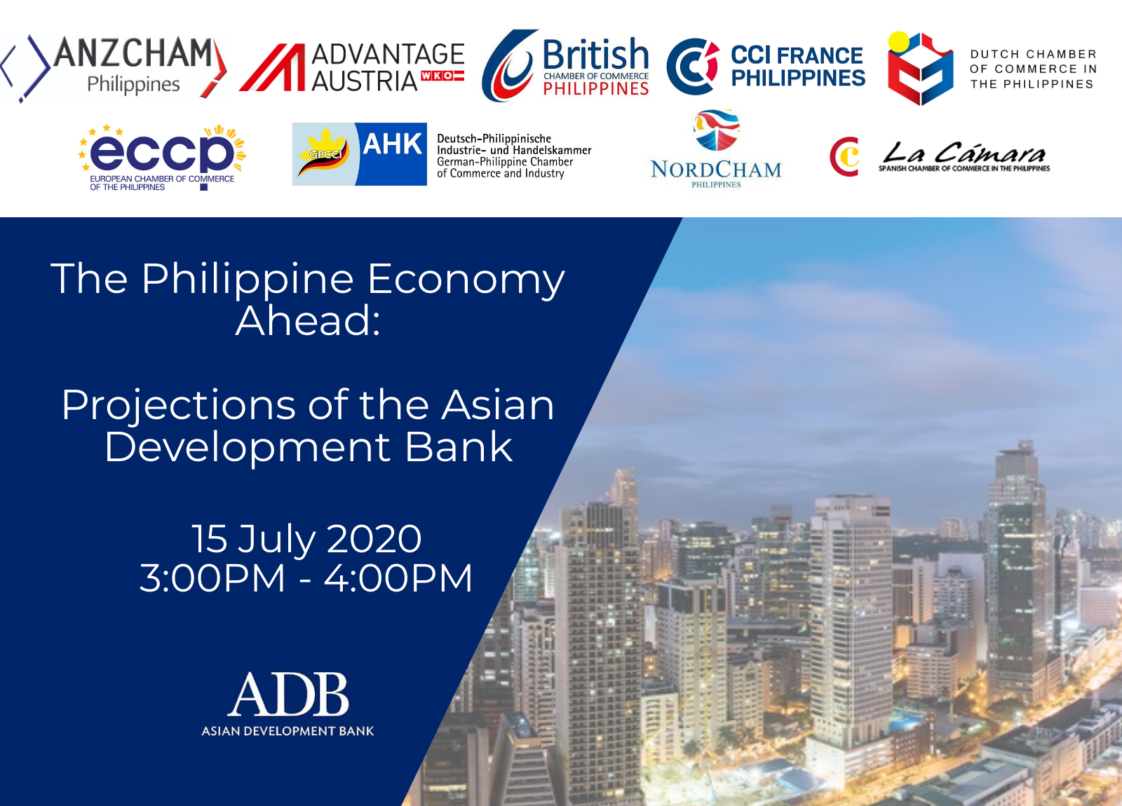 The Philippine Economy Ahead: Projections of the Asian Development Bank