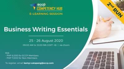 Business Writing Essentials 2nd Run