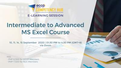 Intermediate to Advanced MS Excel Online Course 3rd Run