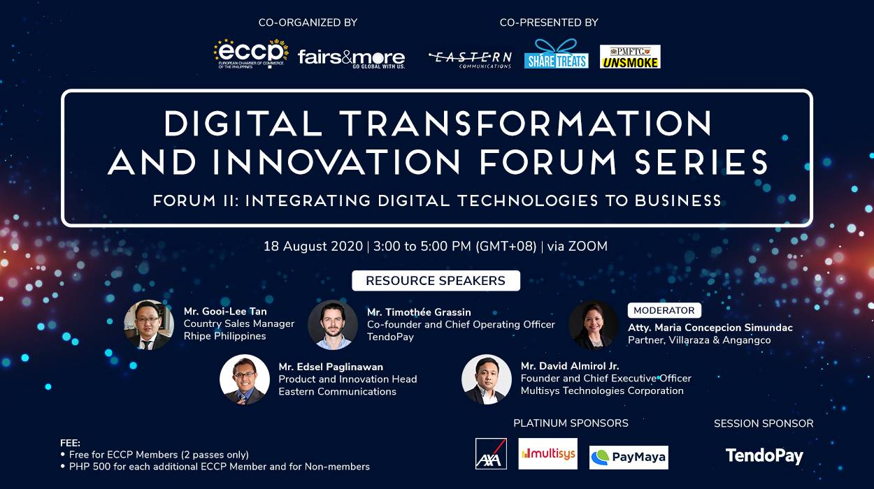 Digital Transformation and Innovation Forum: Integrating Digital Technology to Business
