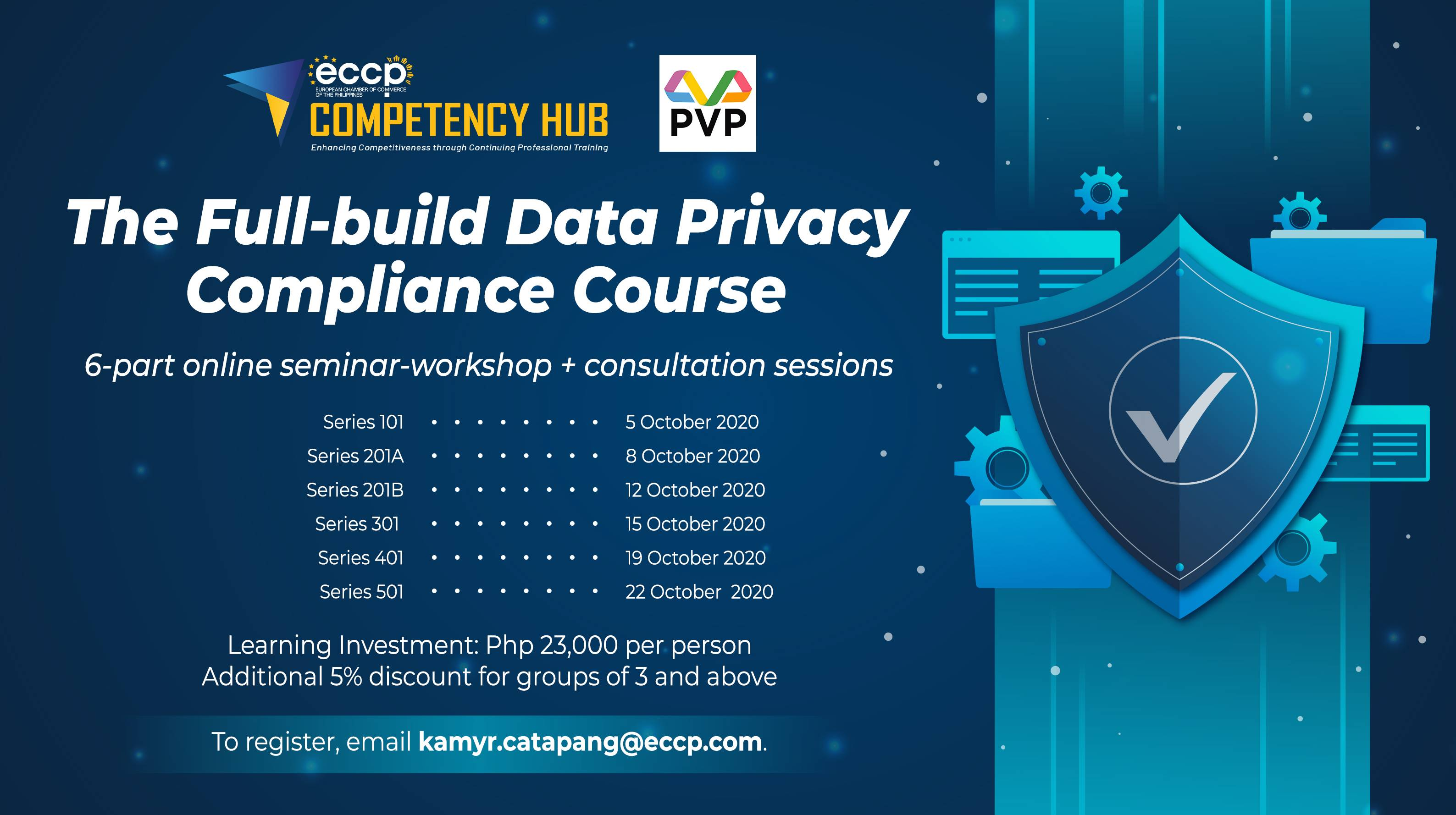The Full-build Data Privacy Compliance Course
