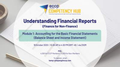 Accounting for the Basic Financial Statements Module (Balance Sheet & Income Statement)