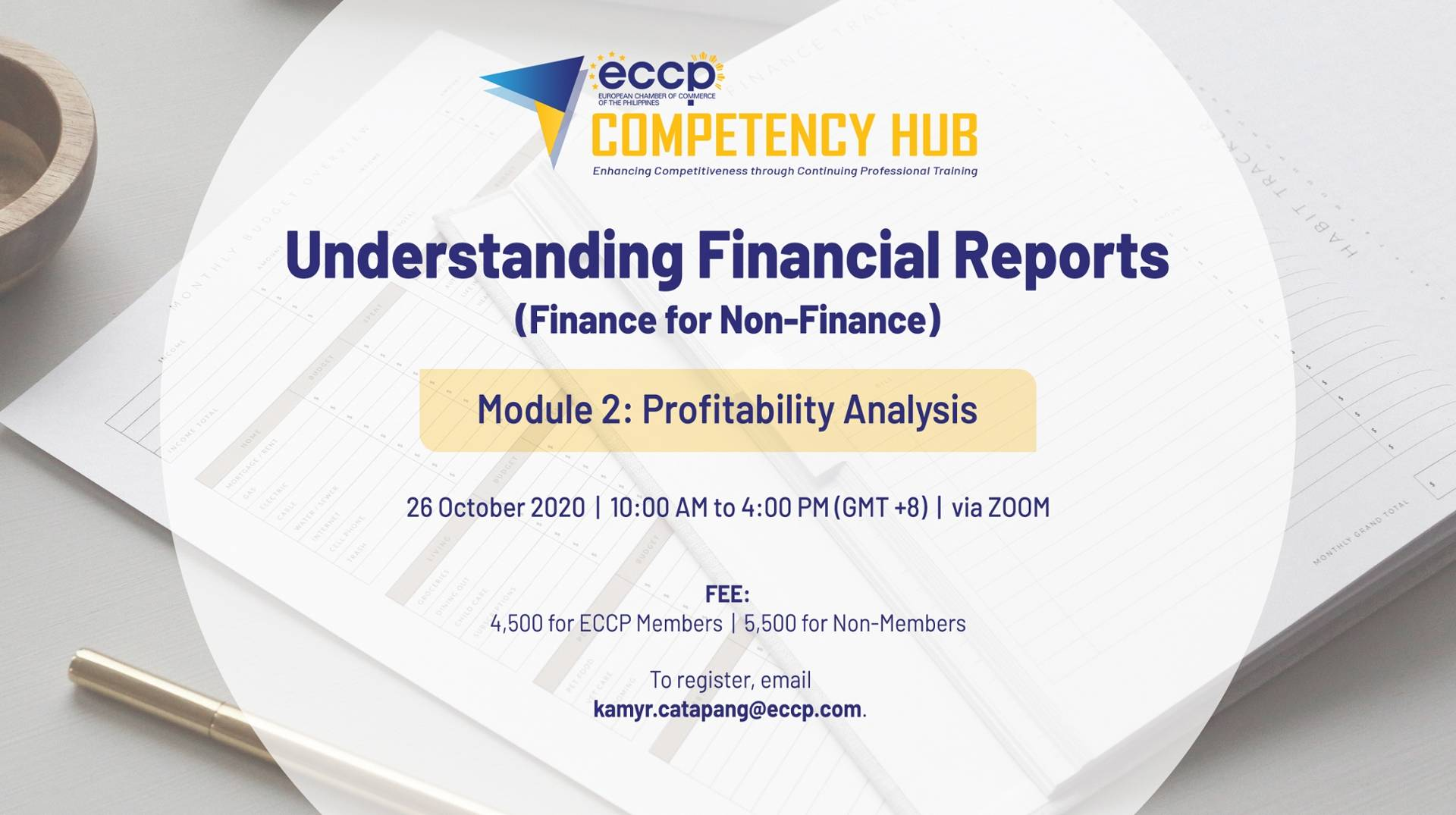 Understanding Financial Reports: Module 2 - Profitability Analysis Module