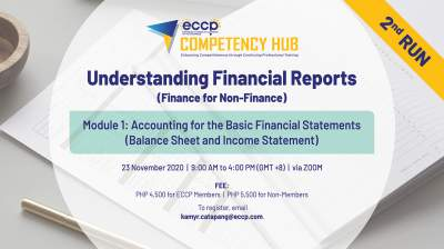 Accounting for the Basic Financial Statements Module (Balance Sheet & Income Statement)  - 2nd RUN