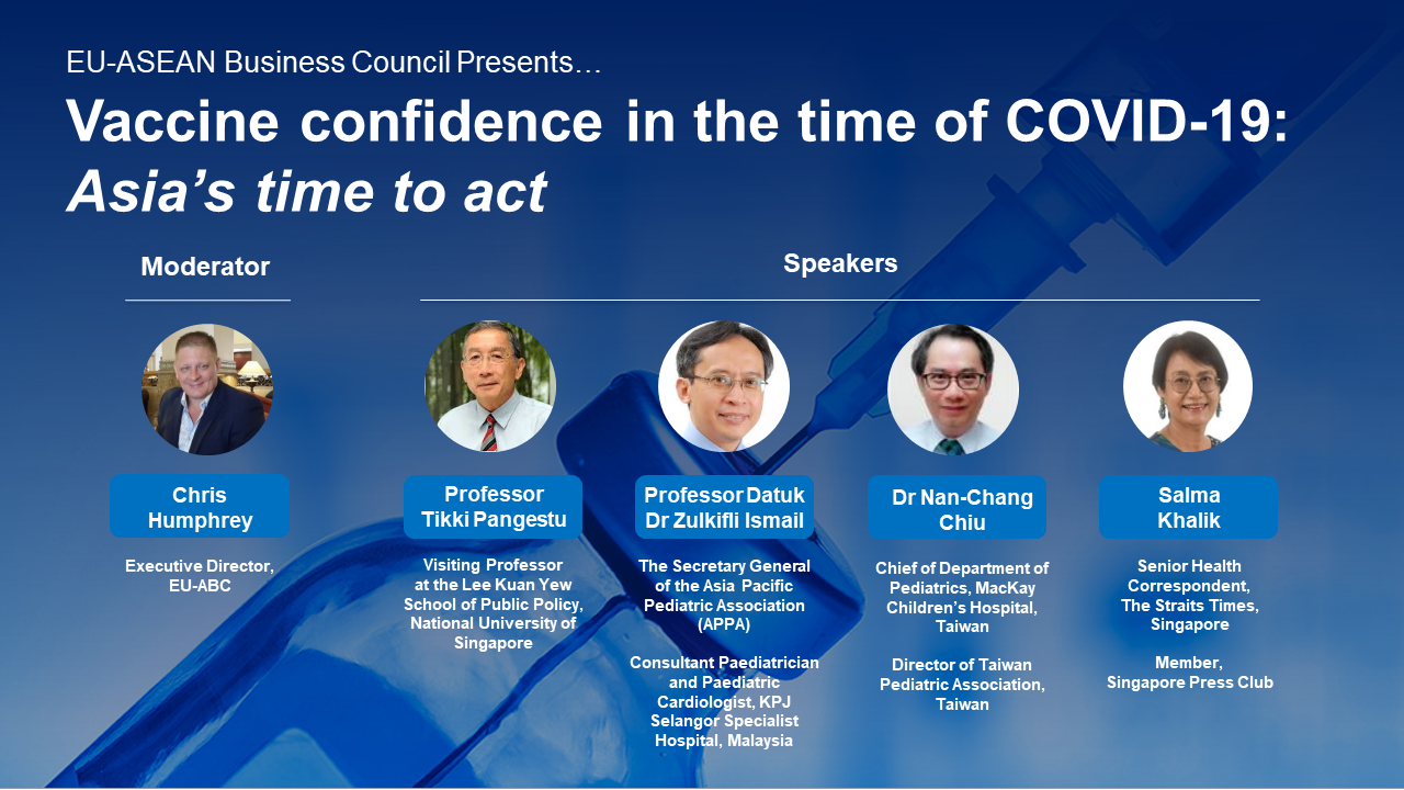 EU-ABC Webinar: Vaccine Confidence in the time of COVID-19: Asia's time to act