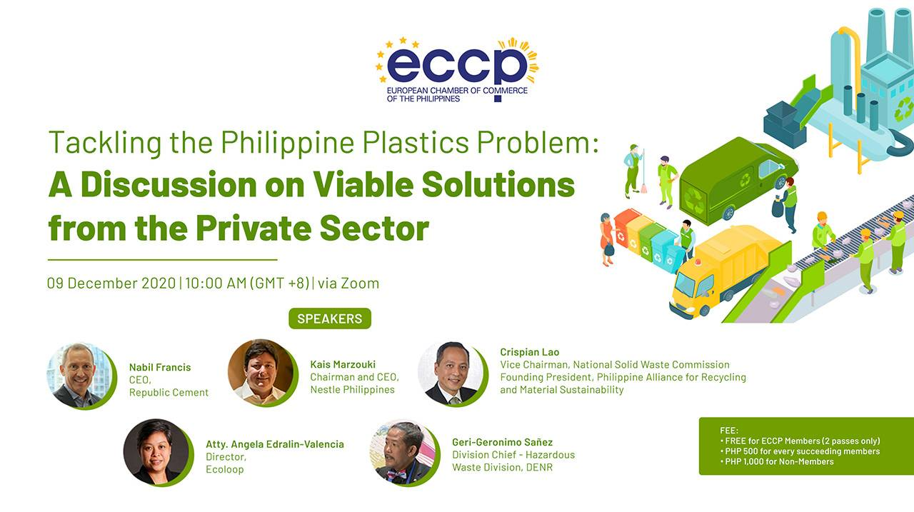 Tackling the Philippine Plastics Problem: A Discussion on Viable Solutions from the Private Sector