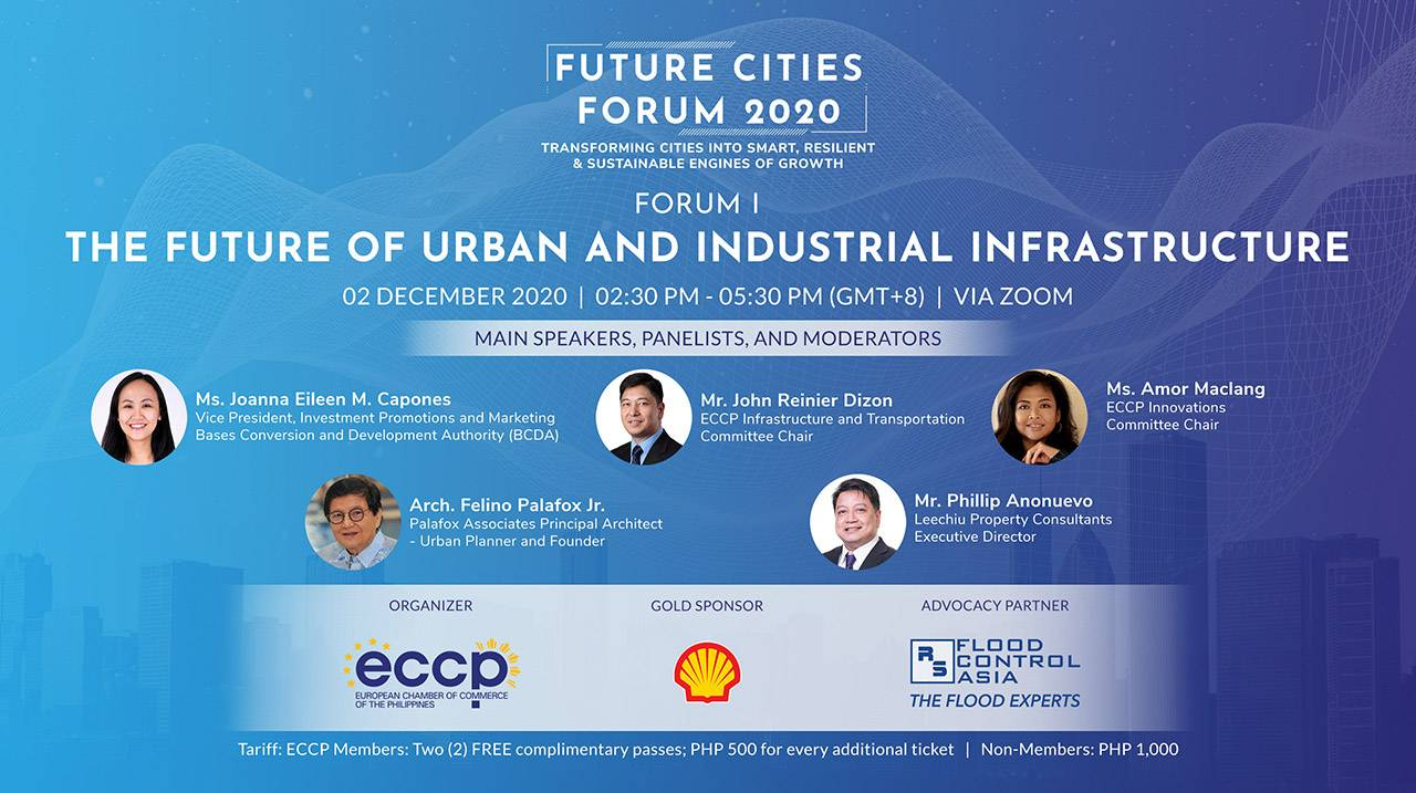 FUTURE CITIES FORUM 1: The Future of Urban and Industrial Infrastructure