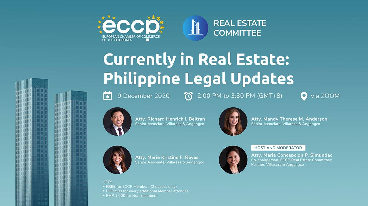 Currently in Real Estate: Philippine Legal Updates