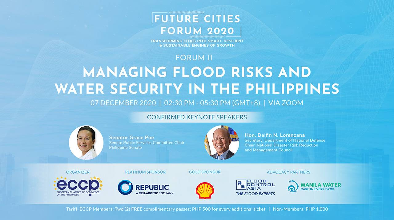 FUTURE CITIES FORUM 2: Managing Flood Risks and Water Security in the Philippines