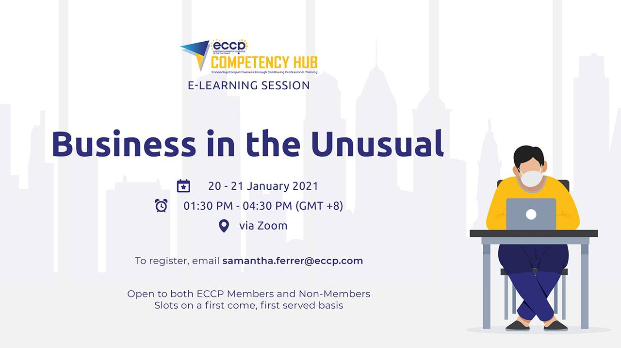 ECCP e-Learning session: Business in the Unusual