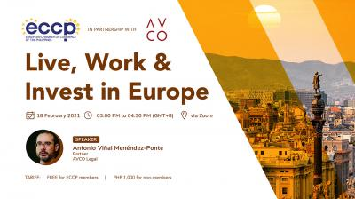 Live, Work & Invest in Europe
